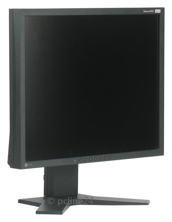 "19"" TFT LCD EIZO FlexScan S1921 Pivot 1280 x 1024 PVA Monitor schwarz B-Ware"