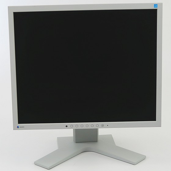 "19"" TFT EIZO FlexScan S1934 DVI VGA DP Monitor IPS mit Lautsprecher hellgrau"