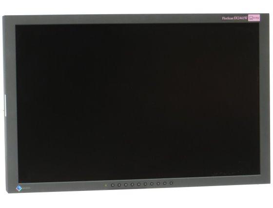 """24"""" TFT LCD EIZO FlexScan SX2461W 1920 x 1200 S-PVA FullHD Monitor defekt"""