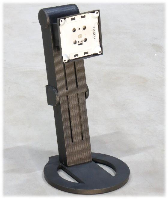 EIZO VESA 100x100 Stand Monitor-Standfuß schwarz mit Pivot Funktion