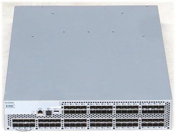 EMC DS-5300B SAN-Switch 80x Port SFP 8G 8Gbps im 19 Zoll Rack