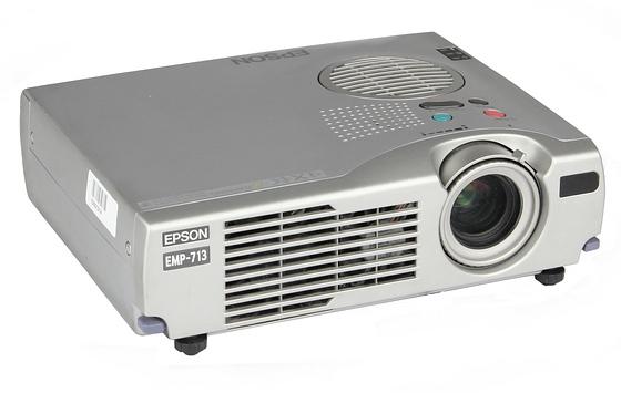 Epson EMP-713 LCD Beamer 1200 ANSI/LU 400:1 C-Ware