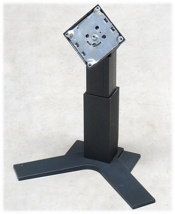 EIZO VESA 100x100 Standard Monitor-Standfuß mit mit Pivot schwarz für 24 Zoll TFT