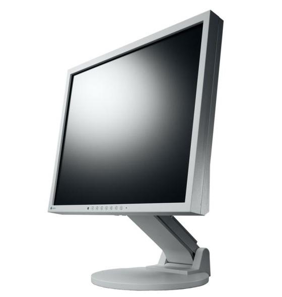 """19"""" TFT LCD EIZO FlexScan S1921SE-GY PVA Pivot VGA DVI Monitor B-Ware"""