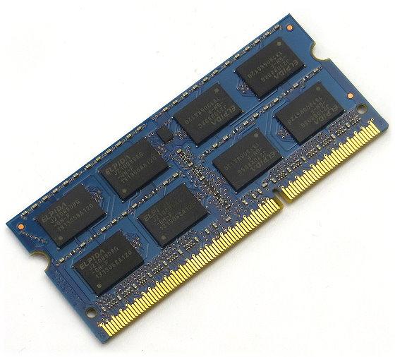 Micron MT16KTF1G64HZ-1G6E1 8GB SO DIMM 204pin PC3L-12800S DDR3 1600 MHz