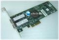Emulex LPe11002-E PCI-E x4 Dual Fibre Channel LC 4Gb/s