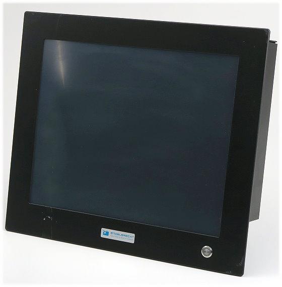 """Engelbrecht I-Line 17 Intel Atom 2x 1,6GHz 2GB 60GB SSD Computer mit 17"""" Touchscreen"""