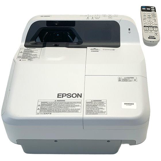 Epson EB-685W Kurzdistanz Beamer 3LCD 3500ANSI/Lu 14000:1 3x HDMI mit Fernbedienung u.500 Std.