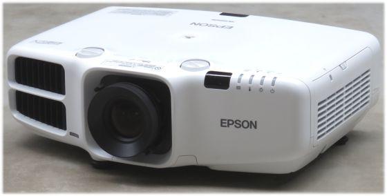 Epson EB-G6050W LCD Beamer 5500ANSI/LU HDMI LAN Lampe unter 2000 Stunden