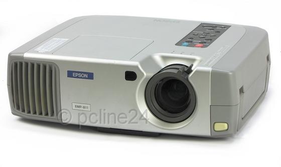 Epson EMP-811 LCD Beamer 2000ANSI/LU Lampe muss gewechselt werden