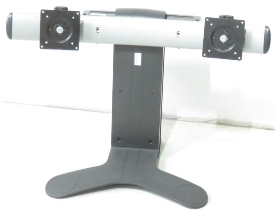 Ergotron LX Dual View Monitor Standfuß für 2 Monitore