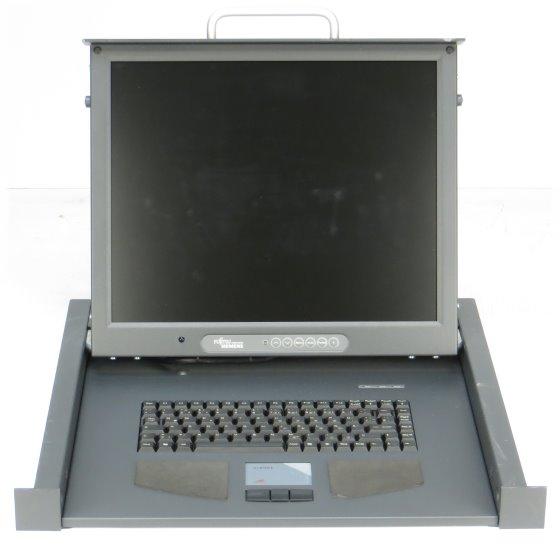 """19"""" Rack Console Fujitsu Siemens RC23 mit 17"""" TFT ohne Zub."""