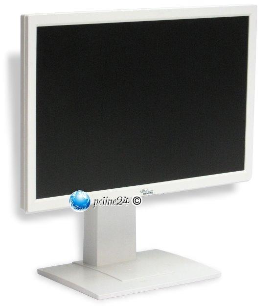 """22"""" TFT LCD Fujitsu Siemens SCENICVIEW A22W-3A VGA DVI Monitor mit Lautsprecher"""