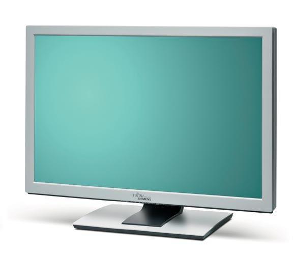 """24"""" TFT LCD FSC ScenicView P24W-3 1920 x 1200 S-PVA Monitor (Bedienpanel defekt)"""