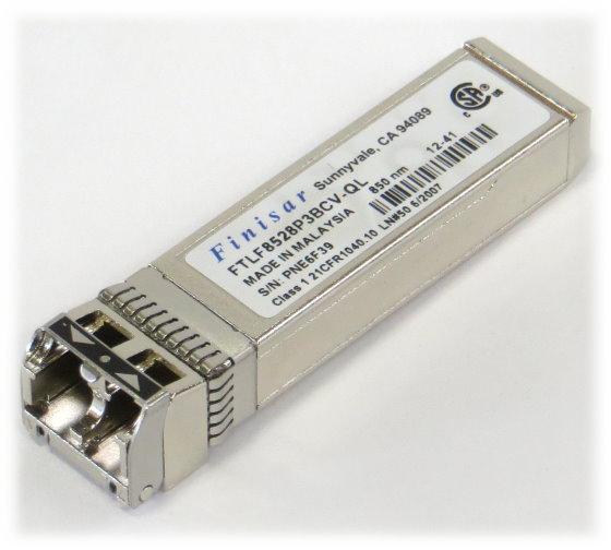 Finisar 8Gbit/s MiniGBIC GBIC 850nm Multimode LC FTLF8528P3BCV 8Gb SFP