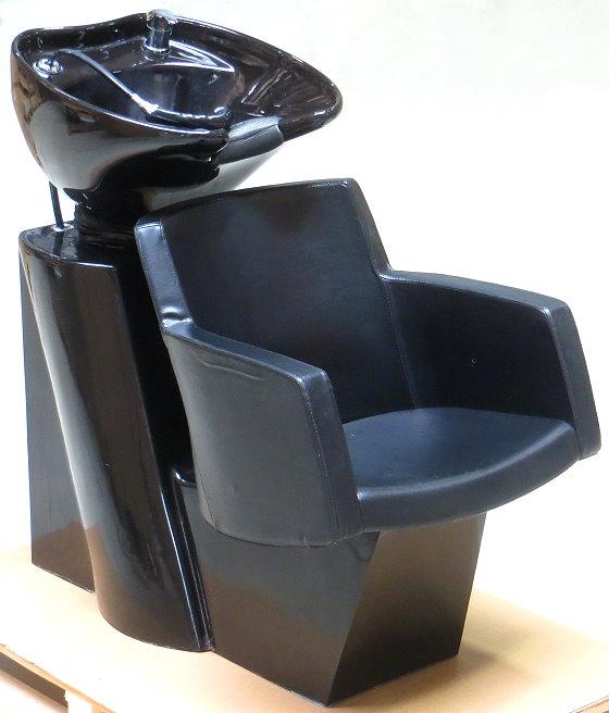 Friseurwaschsessel Friseursessel mit Waschbecken Rückwärtswaschbecken