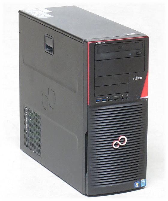 Fujitsu Celsius M730n Xeon Quad Core E5-1620 v2 @ 3,7GHz 12GB 512GB SSD Quadro K2000