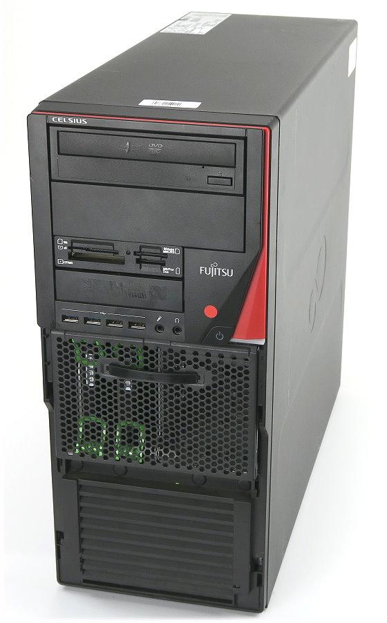 Fujitsu Celsius M730n Xeon Quad Core E5-1607 @ 3GHz 4GB 2x 1TB Quadro 410