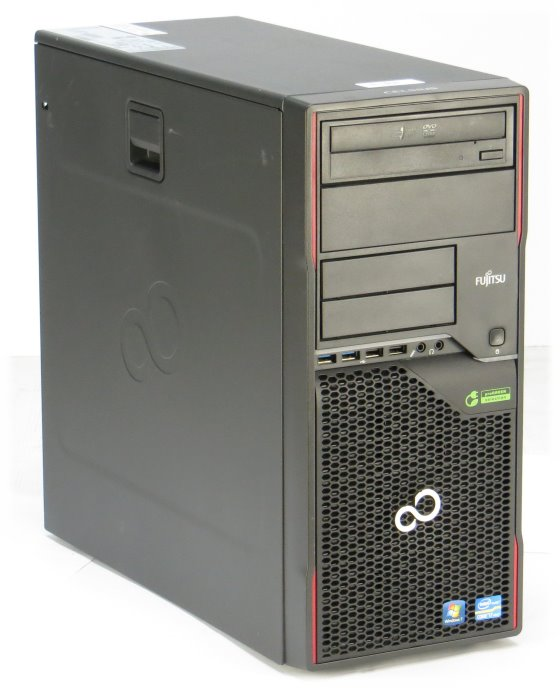 Fujitsu Celsius W420 Quad Core i5 3470 @ 3,2GHz 4GB 500GB DVD±RW Tower B-Ware