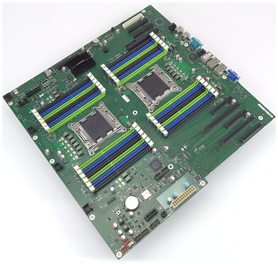 Fujitsu D2949-B17 GS1 Mainboard 2x LGA2011 NEU für Primergy TX300 S8
