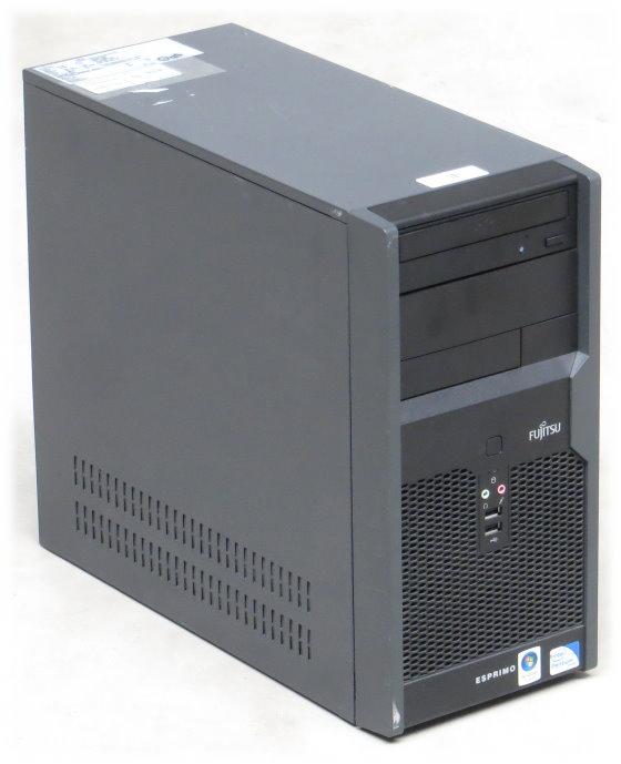 Fujitsu Esprimo P2540 Dual Core E5200 @ 2,5GHz 2GB 160GB DVD Computer Tower