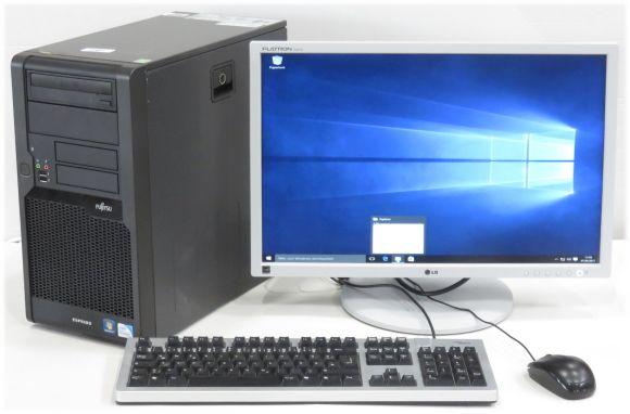 "Schüler Komplett PC Fujitsu P5731 Dual Core + 22"" LG Monitor + Windows 10"