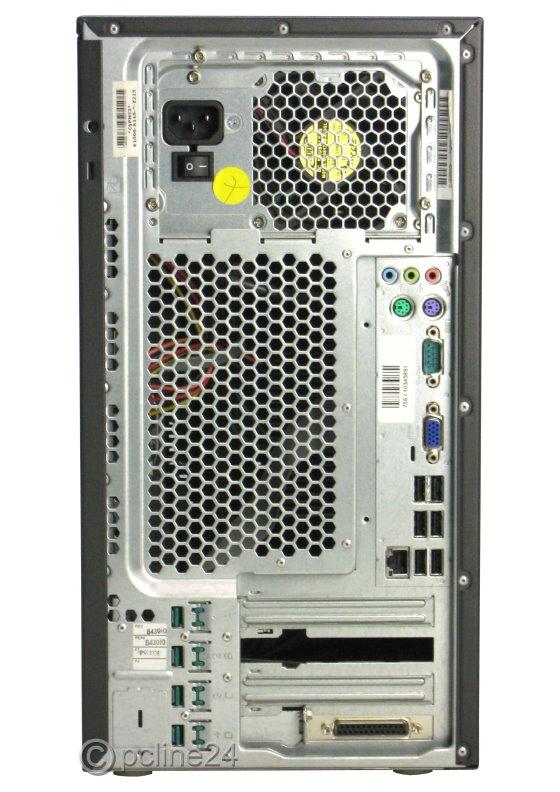 Fujitsu Esprimo P7935 E85+ Pentium Dual Core E6300 @ 2,8GHz 4GB 500GB DVD-ROM