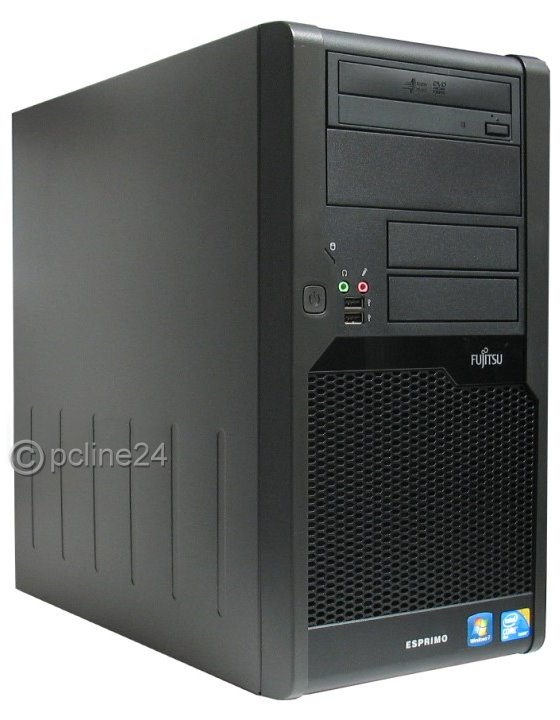 Fujitsu Esprimo P7935 Core 2 Duo E8400 @ 3GHz 4GB 160GB DVD Tower PC