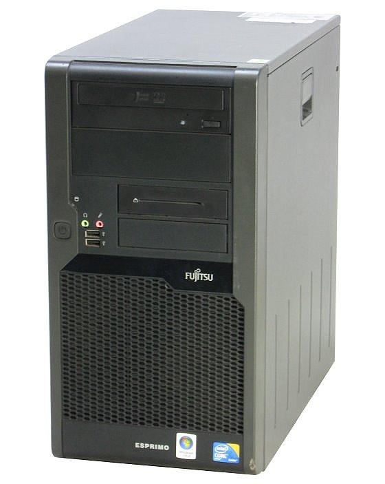FSC Esprimo P7935 E80+ Dual Core E2220 @ 2,4GHz 2GB 160GB DVD Computer