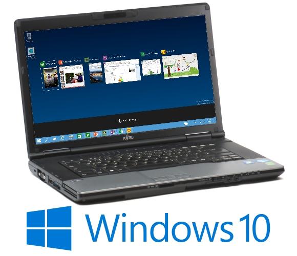 Fujitsu Lifebook E752 i5 3320M @ 2,6GHz 4GB 128GB SSD DVDRW Webcam Win 10 Pro