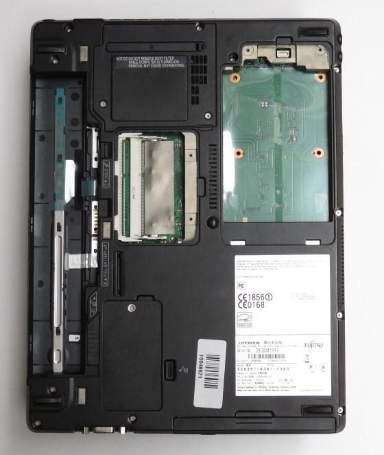 Fujitsu Lifebook P772 Core i5 3320M @ 2,6GHz Webcam (ohne HDD/Akku/RAM) englisch