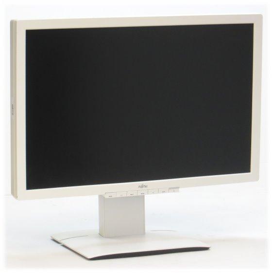 """24"""" Fujitsu P24W-6 LED IPS 1920 x 1200 5ms FullHD 4x USB VGA DVI-I DP vergilbt"""