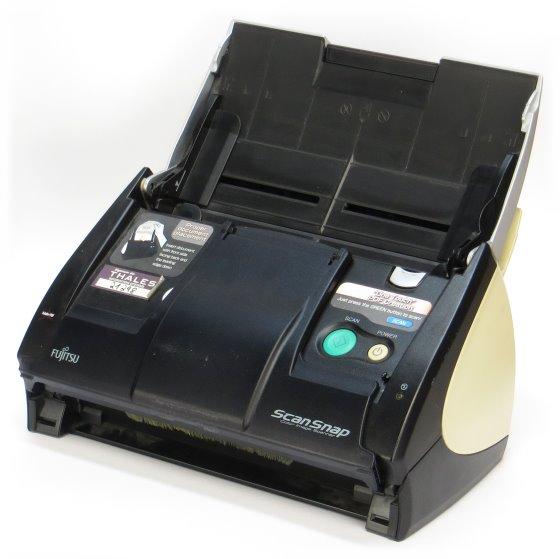 Fujitsu ScanSnap S500 Duplex Dokumentenscanner ohne Netzteil vergilbt