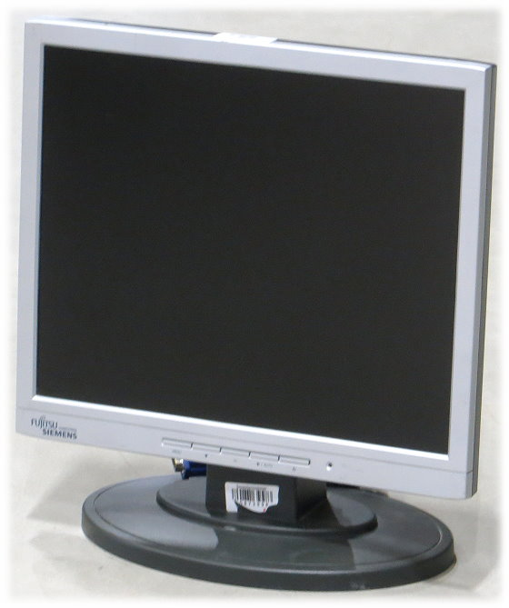 """17"""" TFT LCD FSC ScaleoView C17-7 1280 x 1024 D-Sub 15pin VGA Monitor"""