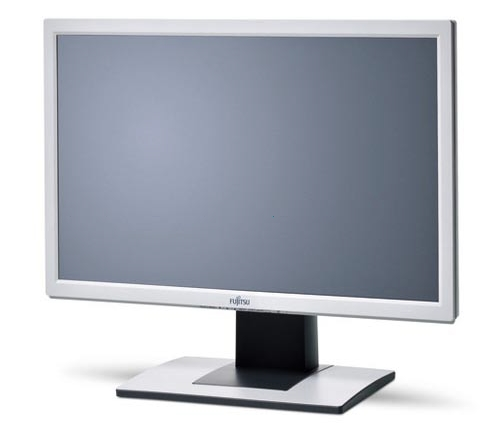 "24"" Fujitsu B24W-5 TFT Monitor VGA DVI 1920 x 1200 Full HD 5ms 1000:1 vergilbt"