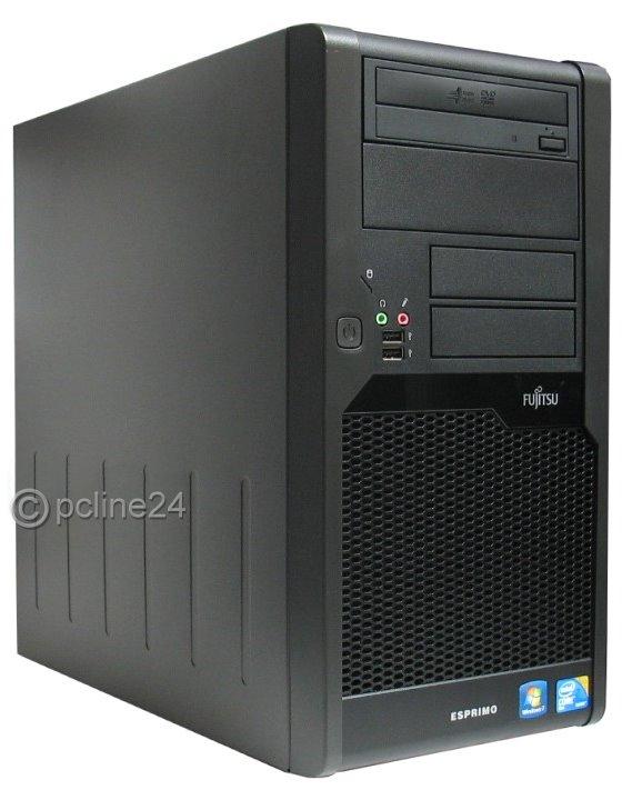 Fujitsu Esprimo P5731 Dual Core E5500 @ 2,8GHz 4GB DVDRW ohne HDD