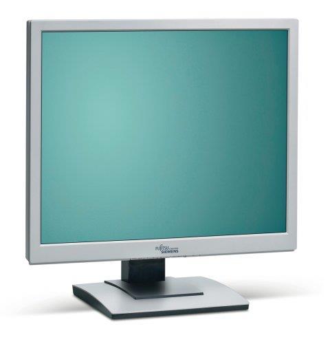 """17"""" LCD TFT FSC B17-5 5ms 1000:1 Pivot DVI vergilbt"""