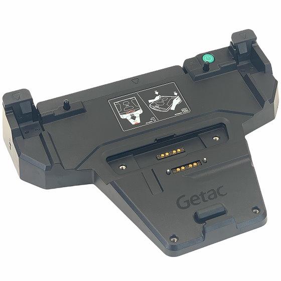 Getac Office Dock für S410 3x USB 3.0 HDMI DP Docking mit Tablet Anschluss ohne Netzteil