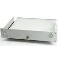 HP 1HE KB Rack Boden für Serverschrank mit Schlüssel für Tastatur Maus etc.