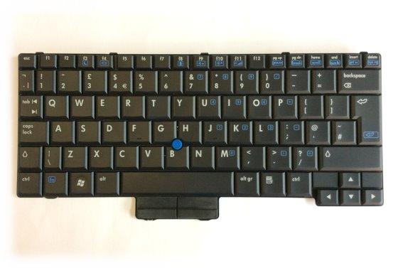 HP Tastatur englisch UK Keyboard für 2510p Laptop Notebook P/N 451748-031