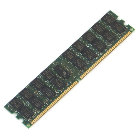HP 4GB PC2-6400P DDR2 800MHz ECC registered Speicher für Server