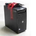 HP 600B Pentium Dual Core G640T @ 2,4GHz 4GB 500GB DVD±RW Computer (o. Blende)