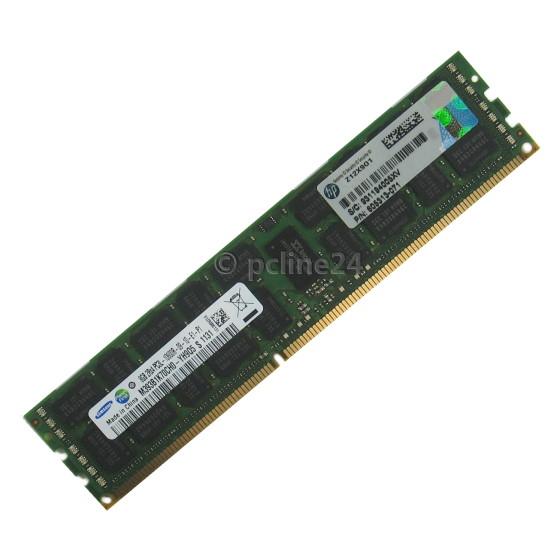 HP Samsung 8GB PC3L-10600R nur für Proliant DL360 DL380 BL460C G7 mit Xeon 56XX