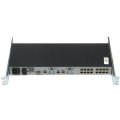 HP AF617A KVM Switch im 19 Zoll Rack 16x Port 513736-001