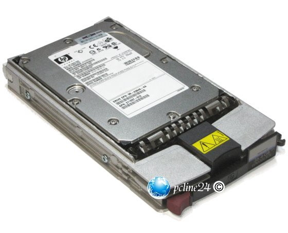 HP BD0728A4B4 72GB SCSI SCA 10k 80Pin U320 im ProLiant Tray GPN 404670-003