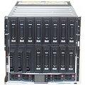 HP BLc7000 BL c7000 Blade Enclosure mit 6x PSU 8x FC 4Gb 16x Ethernet 4x 1/10Gb VC Ports