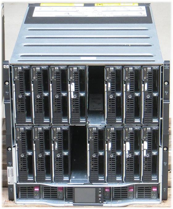 HP BL c7000 G2 Enclosure Blade Server 28x Xeon 6-Core X5675 672GB 14x BL460c G7