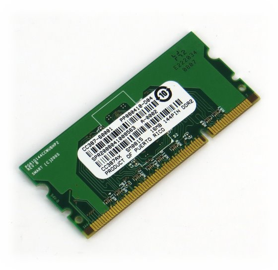HP CC387AX Speicher 16MB DDR2 144pin für LaserJet P2015 P3005