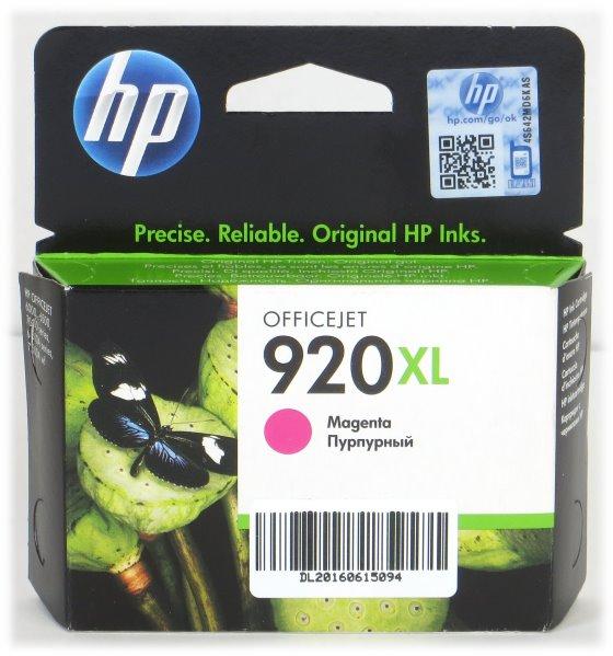 HP CD973AE BGX 920XL Magenta original NEU/NEW für OfficeJet 6000 6500 7000