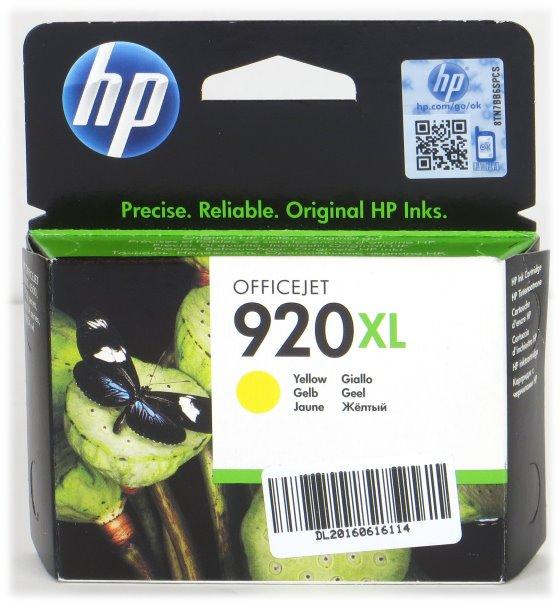 HP CD974AE BGX 920XL Gelb original NEU/NEW für OfficeJet 6000 6500 7000